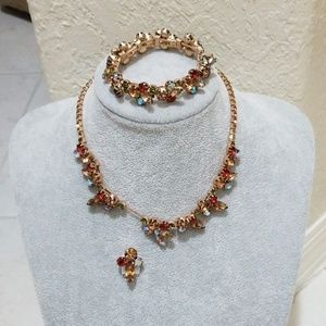 Jewelry - Antique Necklace & Matching Bracelet! MUST SEE!